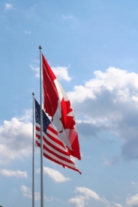 canadian-american-flags